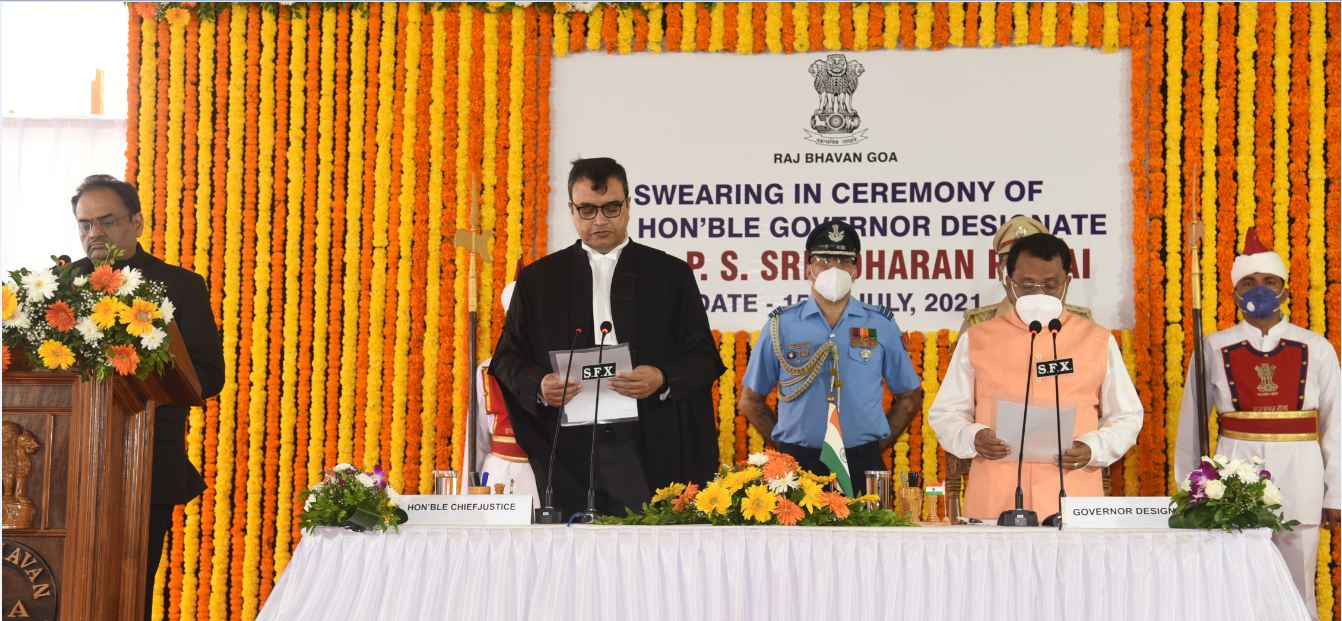 Pillai Swearing in ceremony