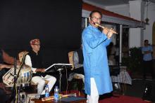 Shri Muktesh Chander,IPS, Director General of Police performed the Flute Recital programme